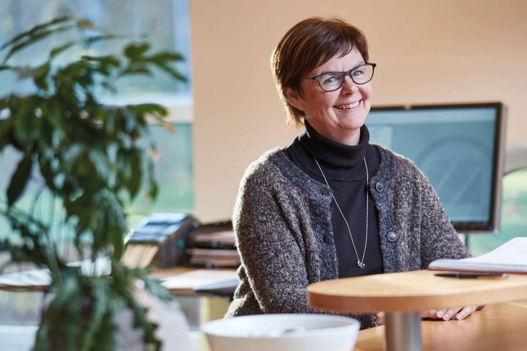 Annelie Hallberg på Delex