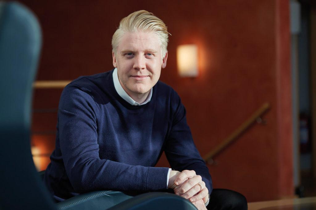 Christian Jacobsson på Delex