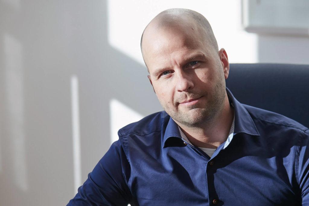 Erik Forsberg på Delex