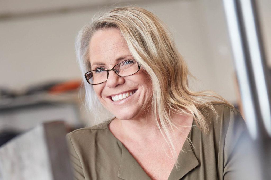 Susanne Damberg på Delex