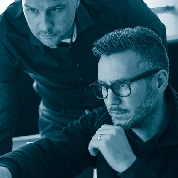 Produktentwicklung mit Erik und Andreas